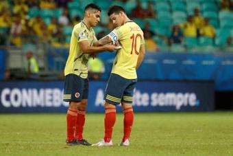 James tiene pocas probabilidades de volver con Colombia. EFE