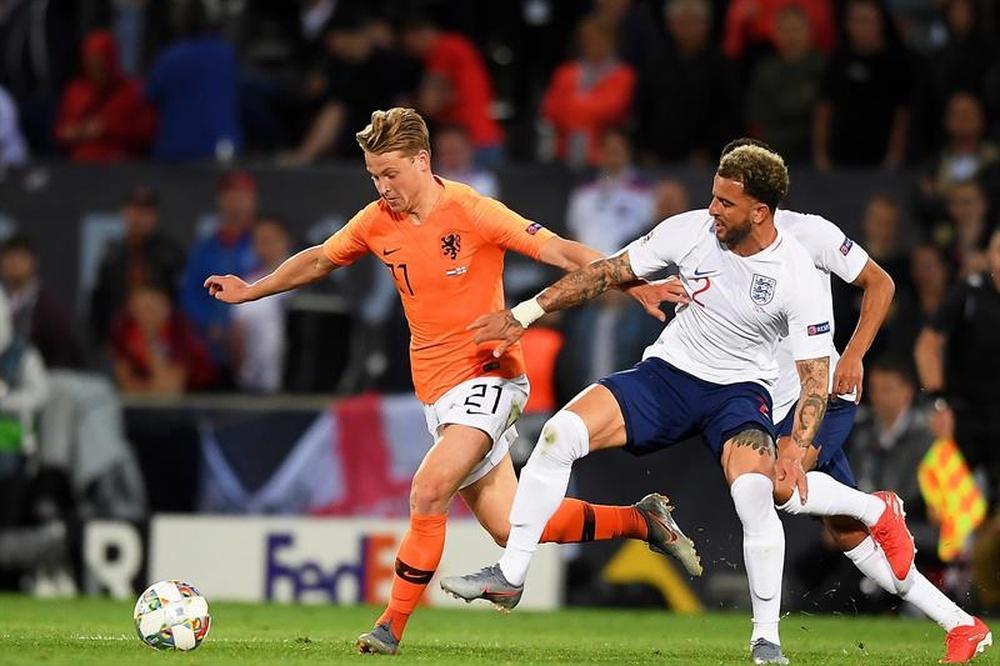 Para Van der Vaart, De Jong é melhor que Kimmich.EFE