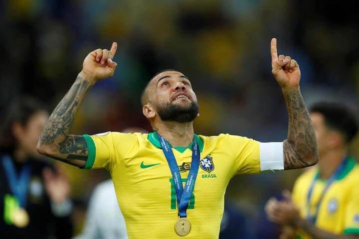 La liste du Brésil pour les JO. EFE
