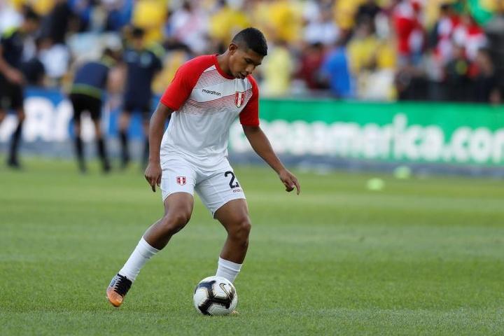Luis Abram ya entrena con el Granada. EFE