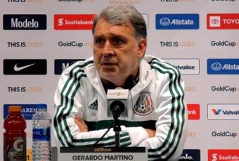 México no pierde la fe con el 'Tata' Martino. EFE