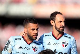 Inter quer Daniel Alves. EFE/Fernando Bizerra Jr