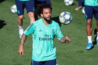 El Madrid sigue trabajando con sus disponibles. EFE