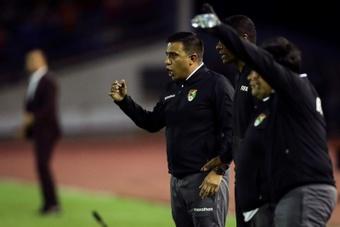 Farías valoró el punto de Bolivia en Paraguay. EFE