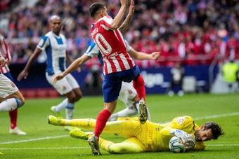 Prováveis escalações de Espanyol e Atlético de Madrid. AFP