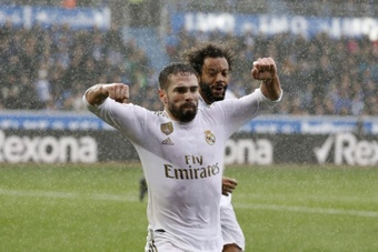 Dani Carvajal is aiming to be fit for 'El Clasico'. EFE