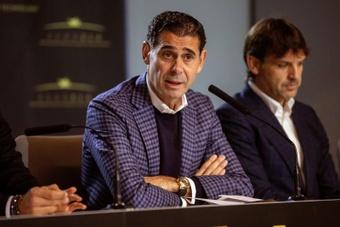 Fernando Hierro analisou o arranque de Alaba e a saída de Ramos.EFE