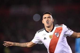 Matías Suárez ya empezó el proceso de recuperación. EFE