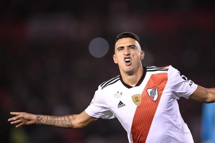 Matías Suárez admitió que le gustaría ver a Gallardo como entrenador de Messi. EFE