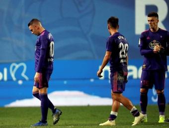 El Celta pierde a Kevin Vázquez entre tres y cuatro semanas. EFE/Archivo