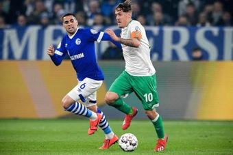 Omar Mascarell tuvo miedo cuando descendió con el Schalke 04. EFE
