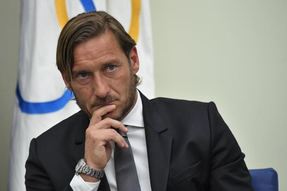 Francesco Totti was close to joining Real Madrid in 2004. EFE
