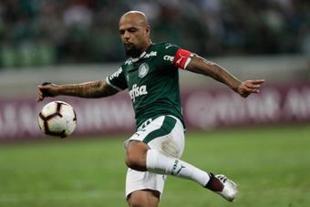 Felipe Melo llegó a Palmeiras en la temporada 2017-18. EFE