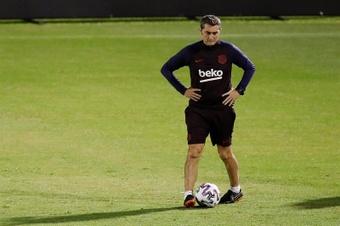 Ernesto Valverde lleva sin entrenar desde la temporada 2019-20. EFE