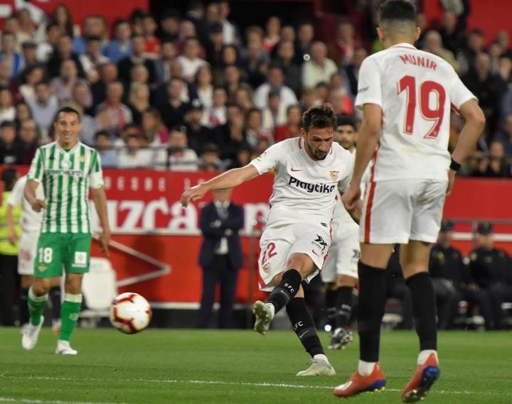 El Parma también sueña con el 'Mudo' Vázquez. EFE/Archivo