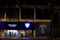Vista de la tienda oficial del Málaga C.F, en el Estadio de La Rosaleda. EFE