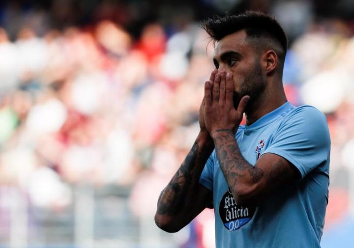 Brais Méndez dans le viseur de la Premier League et la Ligue 1. EFE