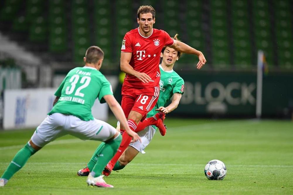 Goretzka is close to renewing with Bayern. EFE