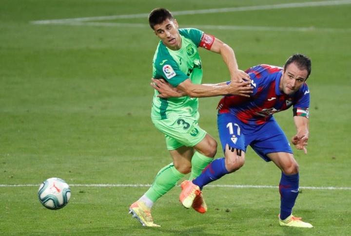 Unai Bustinza llega a un acuerdo de renovación con el Leganés. EFE