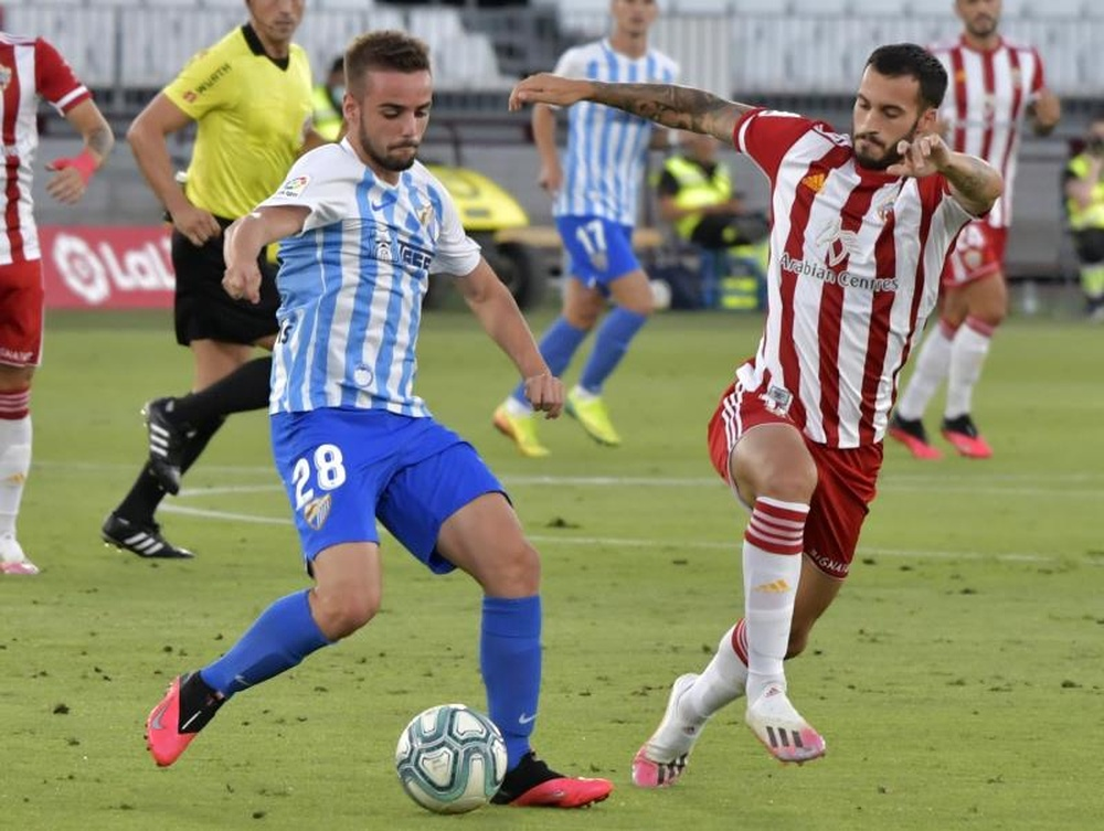 Almería y Málaga se enfrentan en los Juegos Mediterráneos. EFE