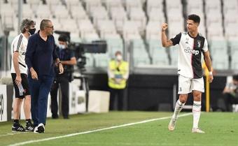 Cristiano ya suma 12 goles de penalti en esta Serie A. EFE