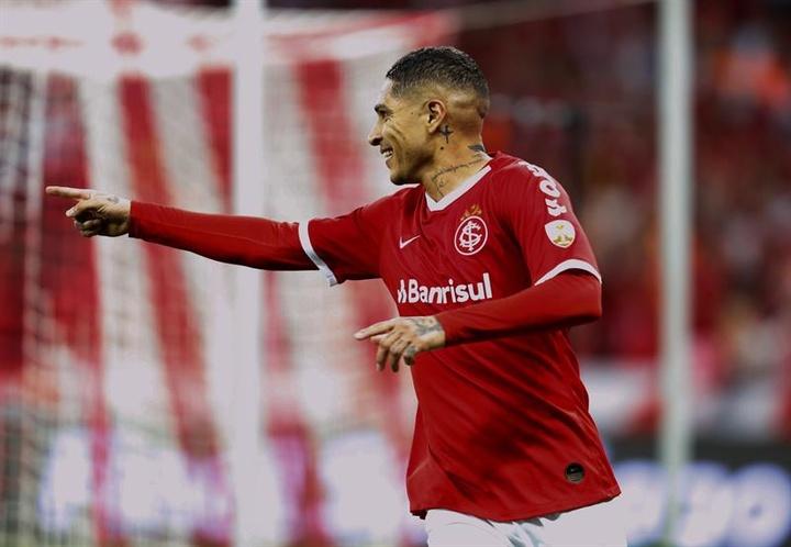 Internacional confirmó que Paolo Guerrero ha pedido rescindir su contrato. EFE