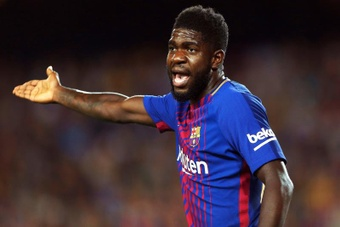 Umtiti was resigned to the fans' comments. EFE
