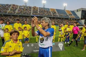 Jorge González Lemus, hijo de 'Mágico' González será  jugador del Cádiz. EFE