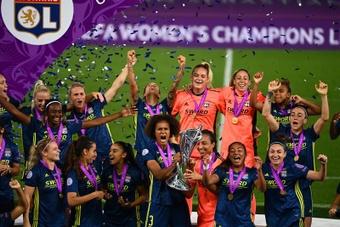 L'Olympique Lyonnais Féminin remporte la Ligue des Champions 2019-20. EFE