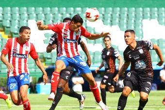 Berterame mantiene a Atlético San Luis en la senda de la victoria. EFE