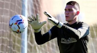 O Lille pede o empréstimo de Grbic, goleiro reserva do Atlético de Madrid. AFP