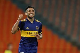 El 'Toto' Salvio podría reaparecer con Boca. EFE