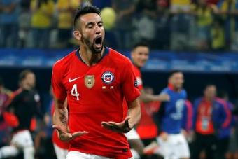 Isla destacó el esfuerzo de la Selección Chilena. EFE