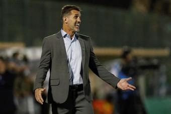 Grêmio apresenta novo comando.EFE