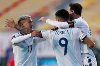 El argentino suena para jugar en el Atleti. EFE