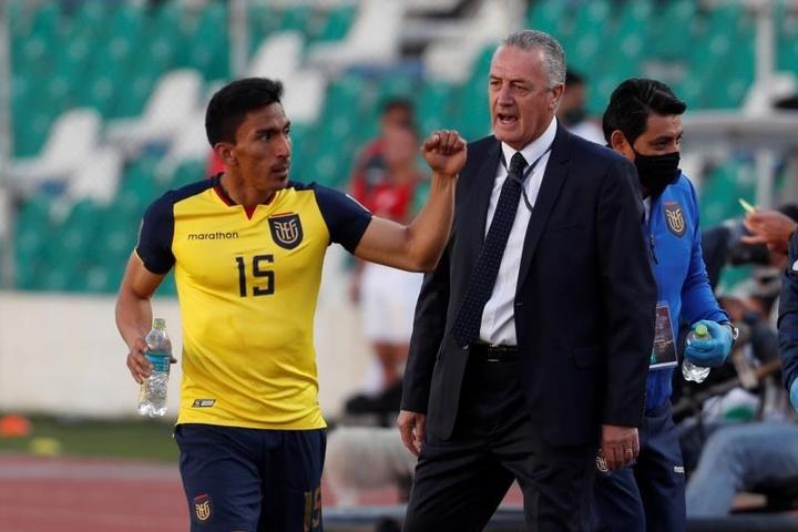 Ángel Mena resaltó la motivación de Ecuador. EFE