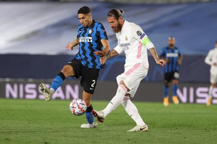 L'Inter cerca il sostituto di Hakimi. EFE