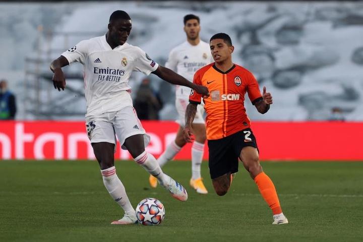 Compos probables : Shakhtar Donetsk-Real Madrid. EFE