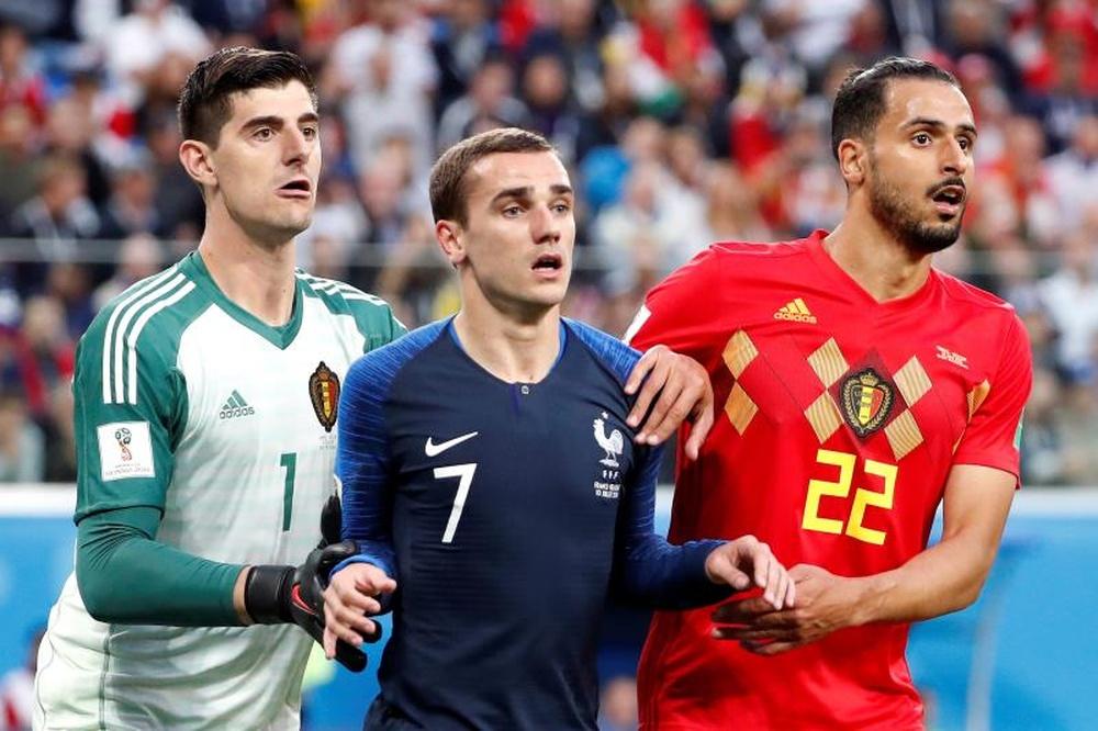 Compos probables : Belgique-France. EFE