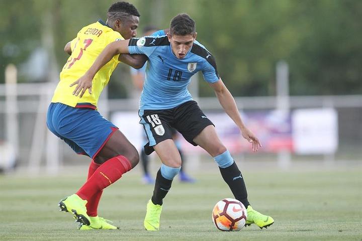 Sanabria habló tras su llegada a Atlético San Luis. EFE