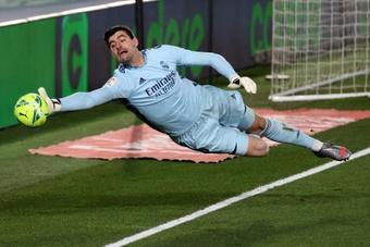 Courtois está deseando jugar frente al Barça. EFE