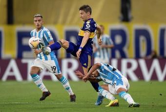 Soldano, un ex de Boca Juniors para el Fuenlabrada. EFE