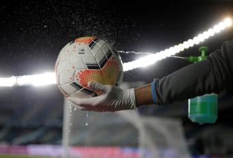 El fútbol español lleva 40 días sin un positivo. EFE/Archivo