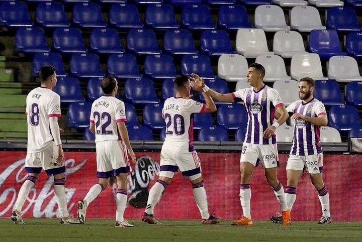 El Valladolid se impone al Rayo Vallecano por 3-1. EFE