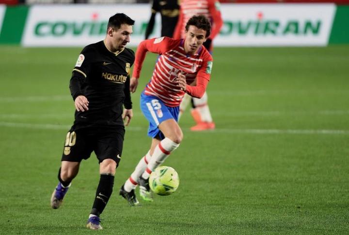 Luis Milla dice adiós a la temporada. EFE/Miguel Ángel Molina