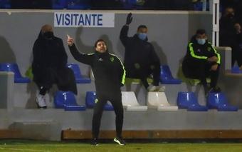 El Girona se enfrenta al Mirandés este jueves. EFE