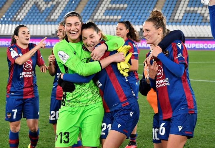 El Levante Femenino volverá a jugar la Champions 12 años después. EFE