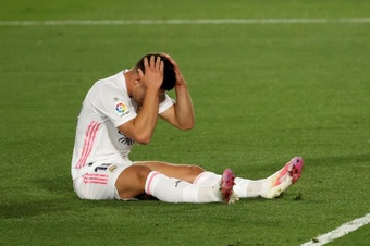 Jovic como substituto de Cristiano.EFE