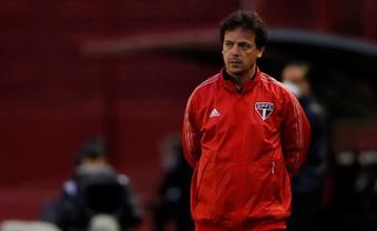 el entrenador de Sao Paulo, Fernando Diniz. EFE