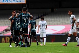 Querétaro pierde a Osvaldo Martínez por una grave lesión de rodilla. EFE
